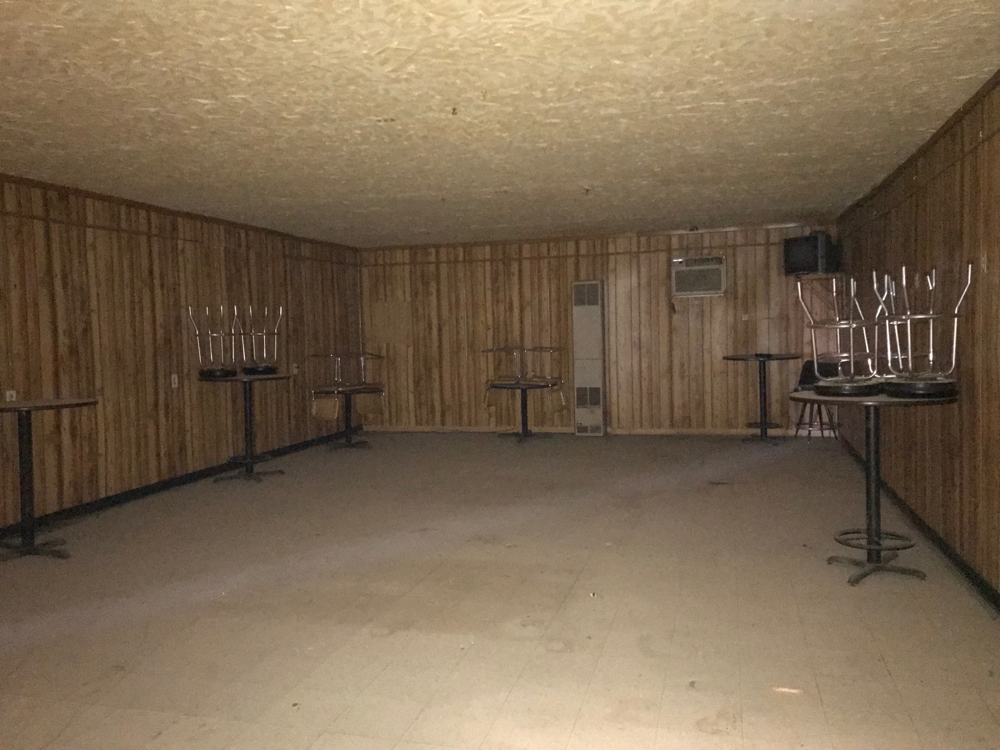 dance area or dining area