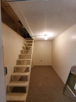 STAIRS TO STORAGE AREA