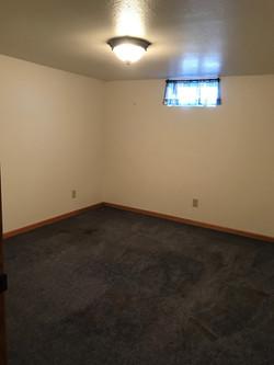 NC basement bedroom
