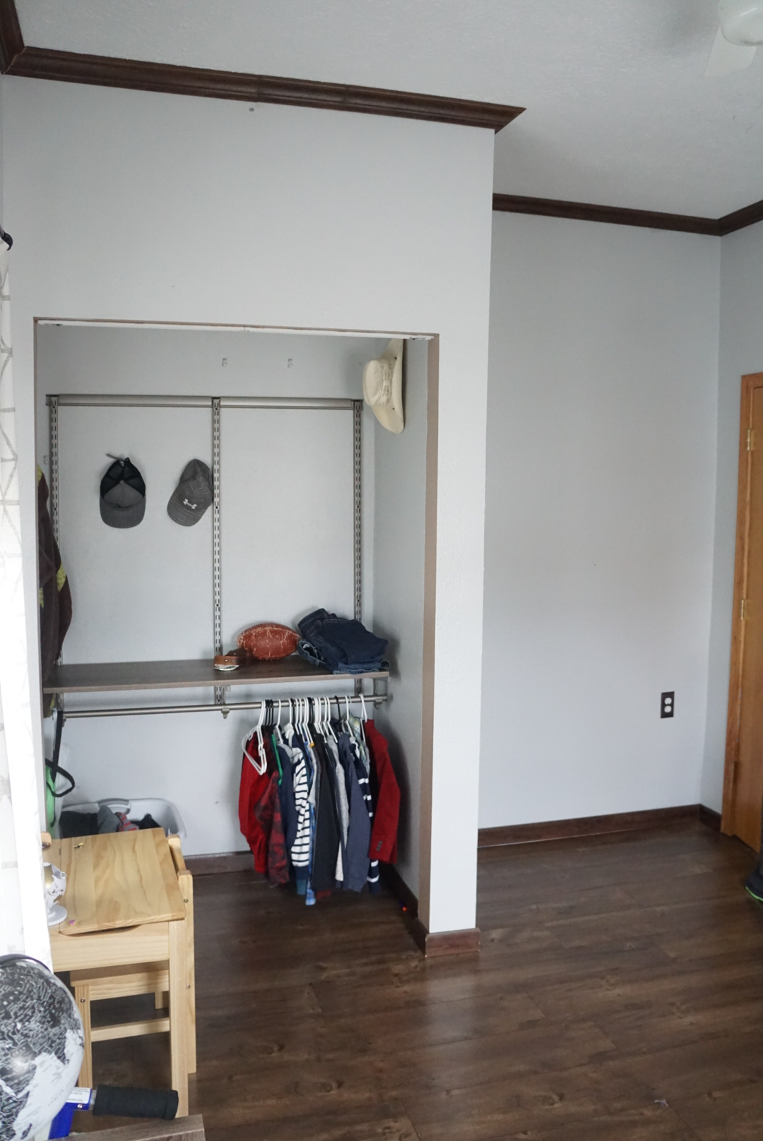 3rd bedroom walk in closet