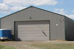 2014 - 48 x 60 Post Steel Framed Barn