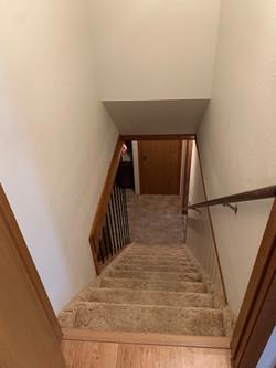 downstairs stairwell