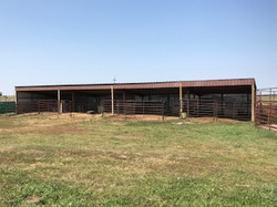 open front barn