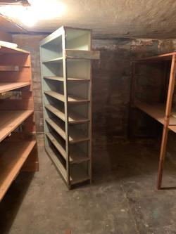 downstairs storage