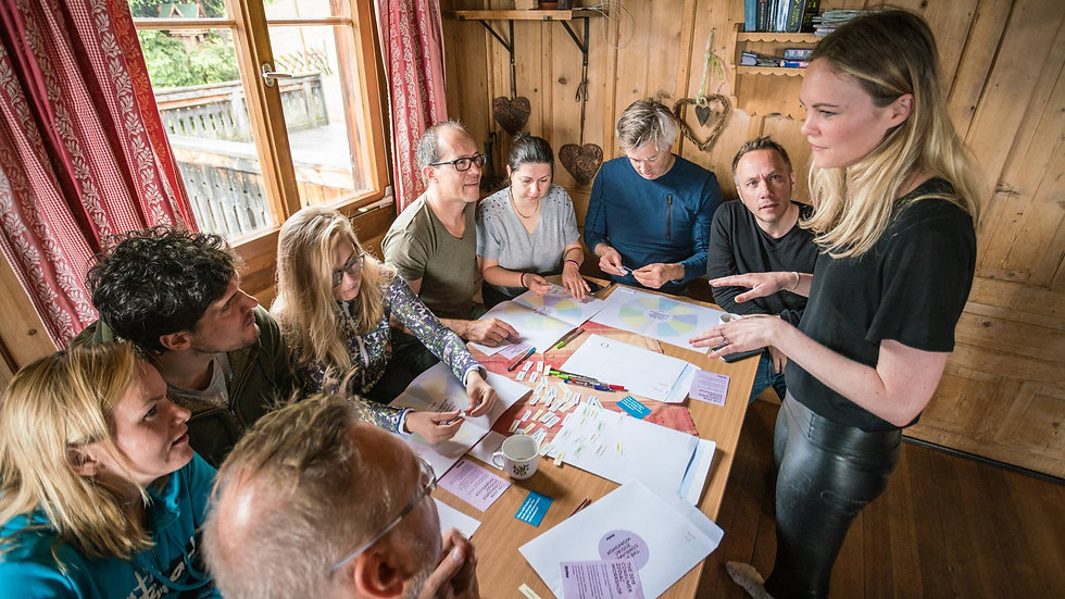 Lean Back Leadership: Transformational Leadership for organisational agility
