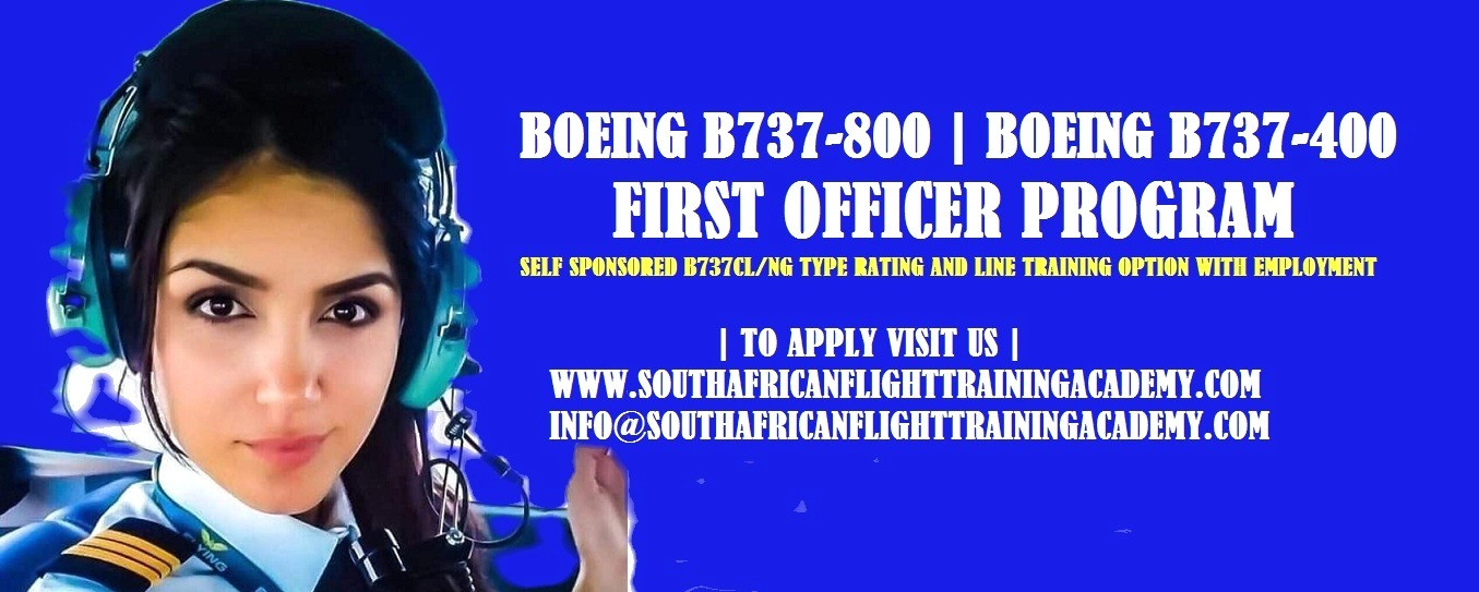 Boeing B737-800 Type Rating | South African Flight Training Academy