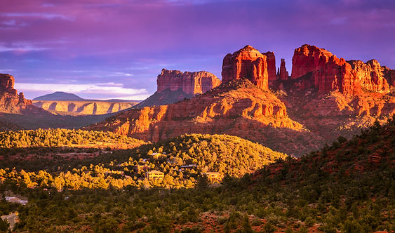 Cathedral Rock in Sedona, Arizona in the
