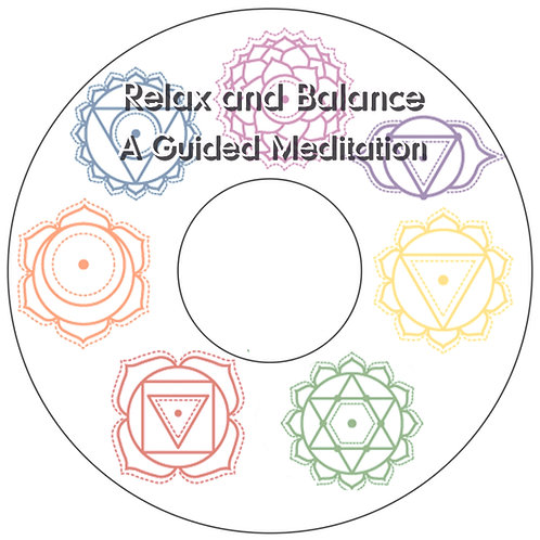 """Relax & Balance""24-Minute Guided Meditation Download"