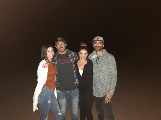 Friends & Fun on UFO Tour