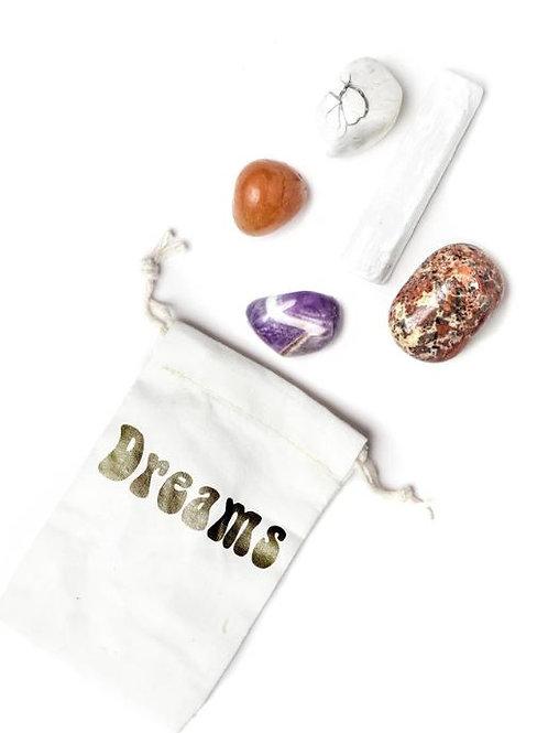"""""""Dreams"""" Pocket Crystal Healing Set"""