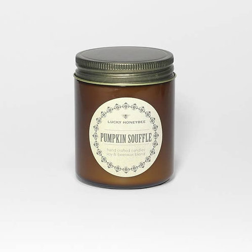 Fall Soy Candles by The Lucky Honeybee