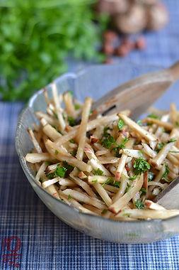Çiğ Yer Elması Salatası