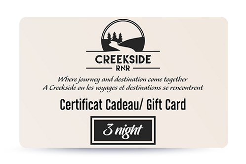 """3 Nights – """"The Long Weekend"""" – Gift Card"""