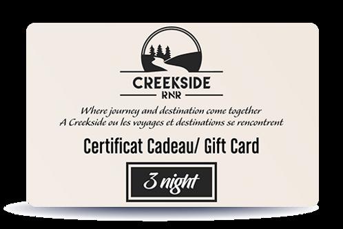 3 Weeknights – Gift Card