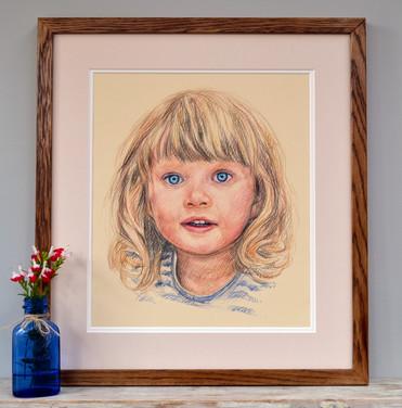 Leia framed 2.jpg