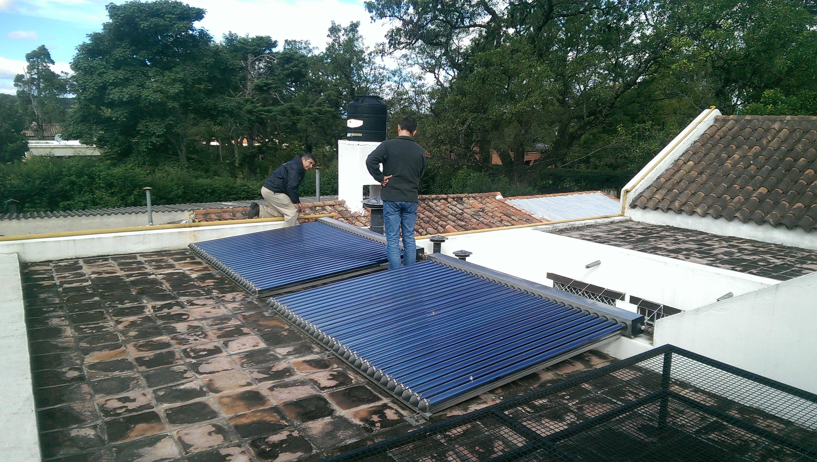 Techo-termotanques-solares