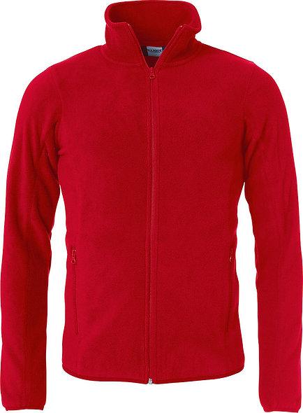 Polar Fleece Jacke in rot