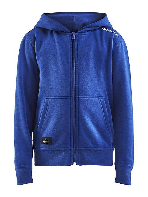 Craft - Community FZ Hoodie Jr Hoodie - Kinder Sportswear Hoodie ideal als Teamkleidung oder Vereinskleidung oder auch joggen