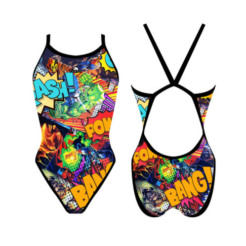 Turbo Swim - Swimsuits Revolution - Badeanzug - Super Comic - 83081630