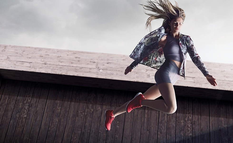Model in Sportbekleidung von Sportatex der Online Shop Für Sportbekleidung