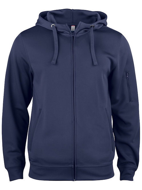 Clique - Basic Active Hoody Full Zip - 021014 lifestyle Hoodie für Damen und Herren
