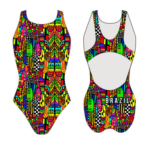 Turbo Swim - Swimsuits Wide Strap - Badeanzug - Fiesta Brazil - 83085429