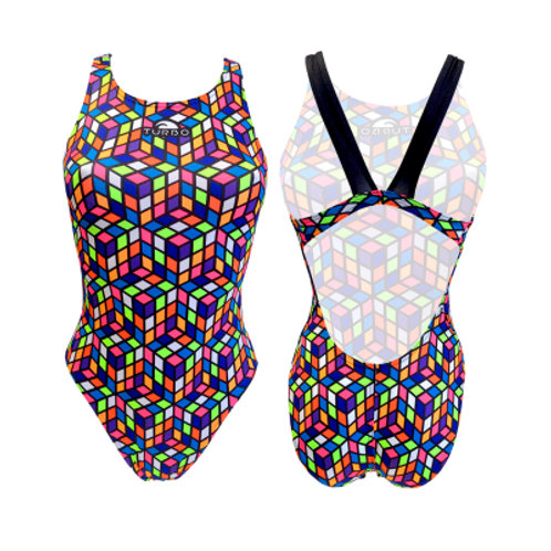 Turbo Swim - Swimsuits Wide Strap - Badeanzug - Cube 2015 - 8300561