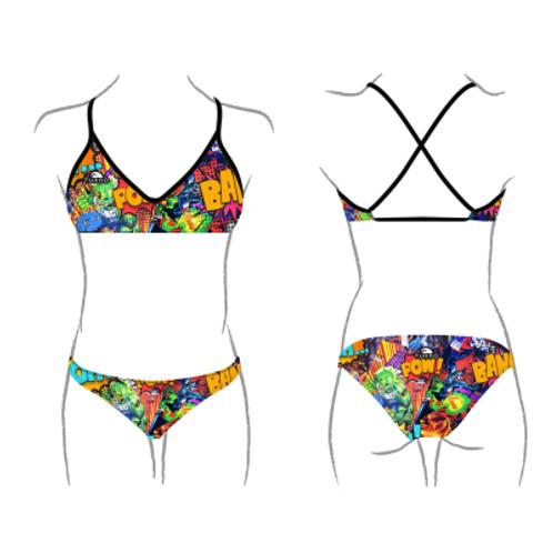 Turbo Swim - Bikini Mare - Swimkini - Super Comic - 43081627