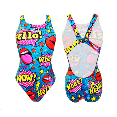 Turbo Swim - Swimsuits Wide Strap - Badeanzug - Pop Comic - 8306391
