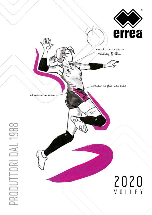 Errea - Volleyball Kataloge