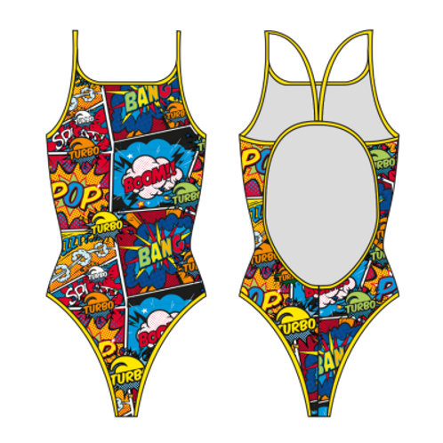 Turbo Swim - Swimsuits Thin Strap - Badeanzug - Comic Boom - 8304152