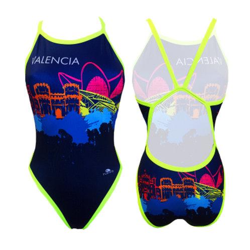 Turbo Swim - Swimsuits Revolution - Badeanzug - Valencia Skyline - 83100830