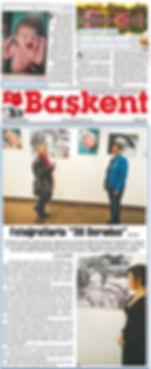 Başkent Gazetesi Sergi Haberi
