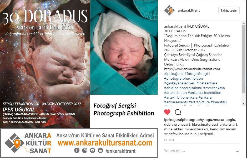 Ankara Kultur Sanat Etkinlikleri Sergi Duyurusu