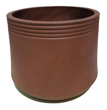 Brown Fiber Pot