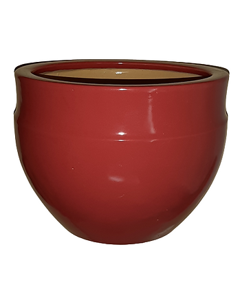 Red Plant Pot
