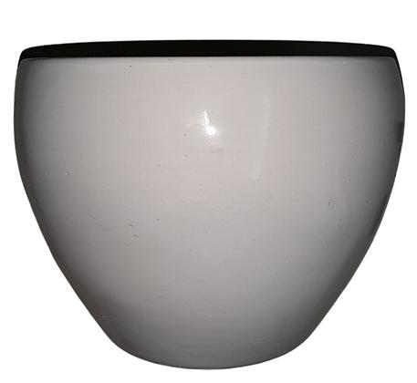 White Plant Pot