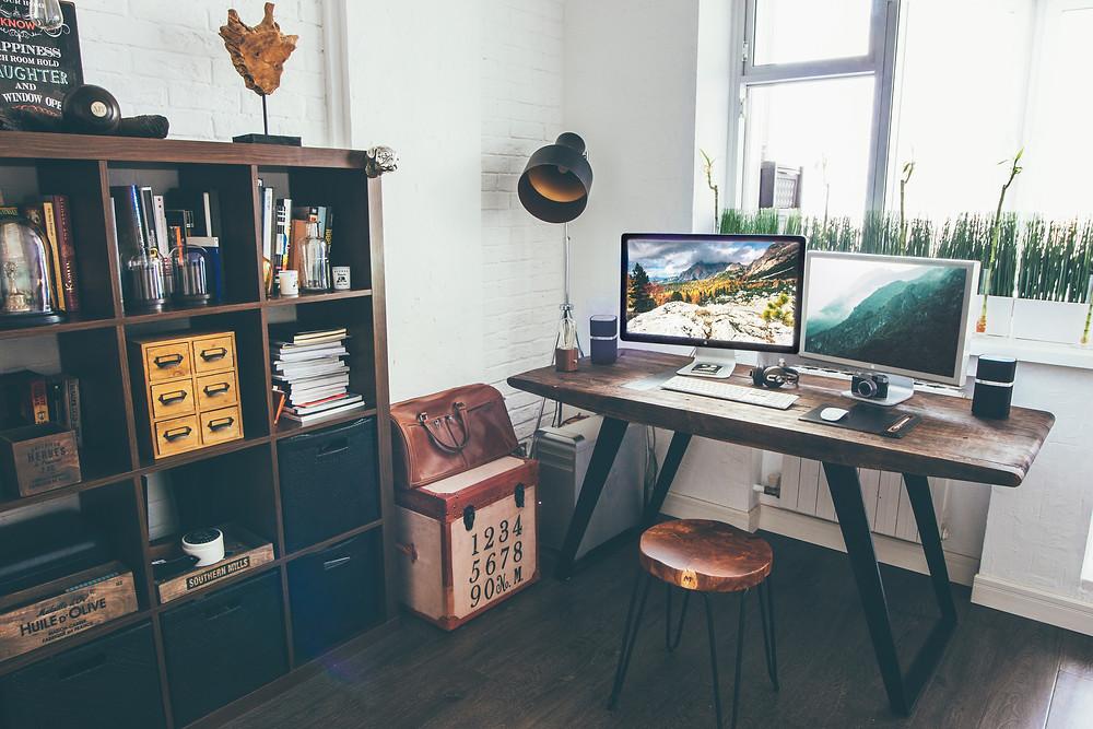 Arbeiten von Zuhause: nur mit Arbeitszimmer
