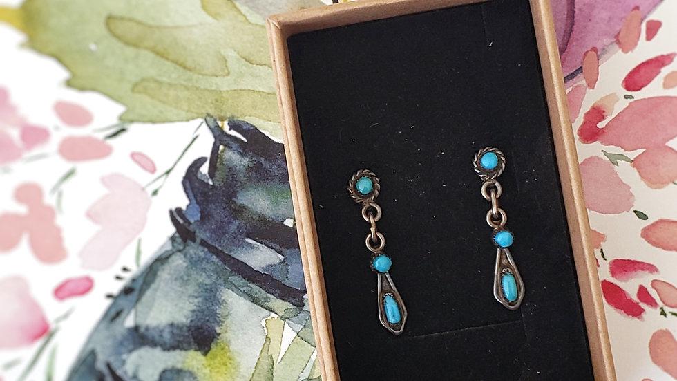 Zuni Native American Earrings