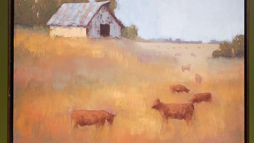 Guardian + Original Painting + Beth Cole