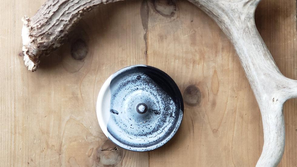 Ring Dish + Black + Gray II