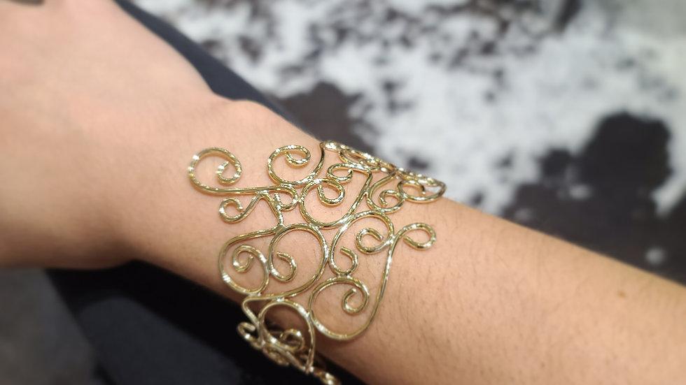 Juniper Filigree Bronze Bracelet II