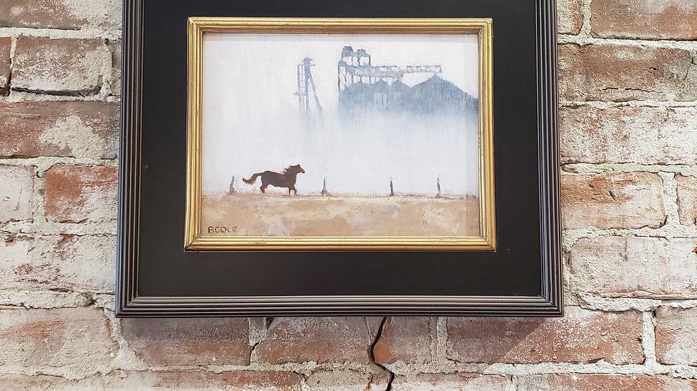 Freedom + Original Painting + Beth Cole