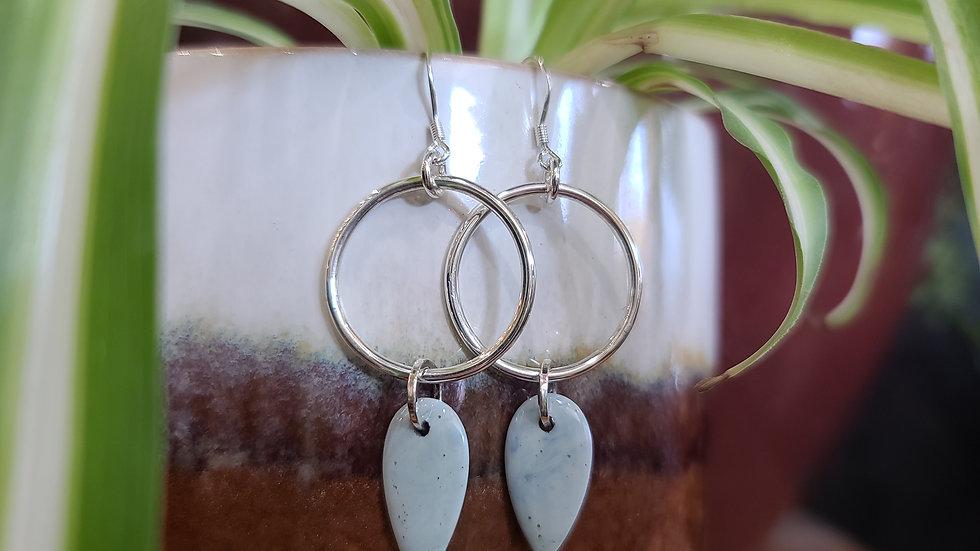Leland Blue + Sterling Silver Earrings