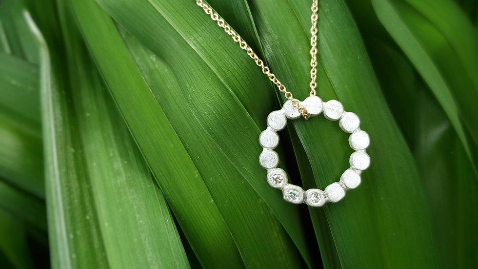 Pebbles Diamond Necklace