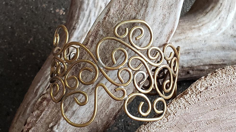 Juniper Bronze Filigree Bracelet