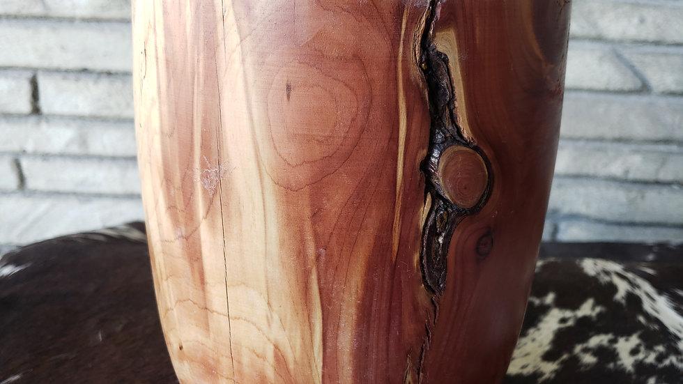 Iowa Cedar Vase