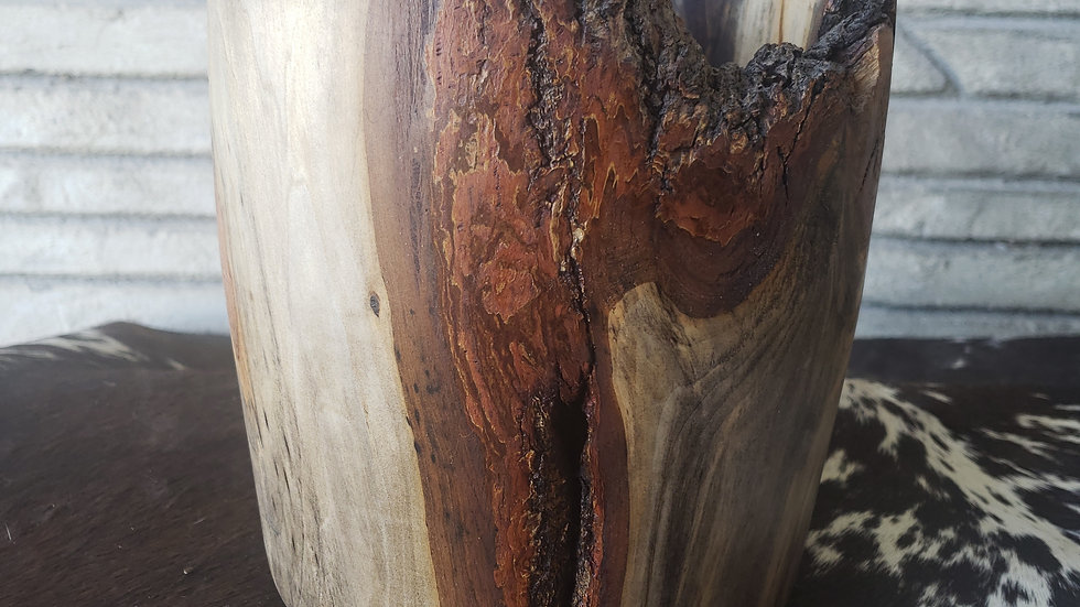 Iowa Linden Wood Vase