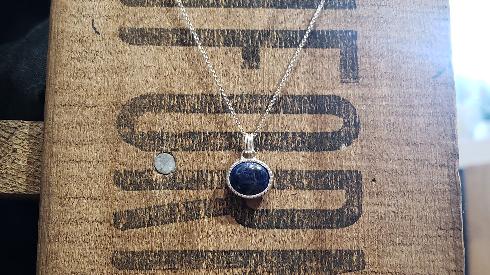 Lapis Lucy Necklace