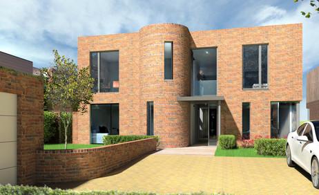Residential planning application CGI